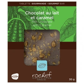 Rochef Milk Chocolate with Caramel 30g