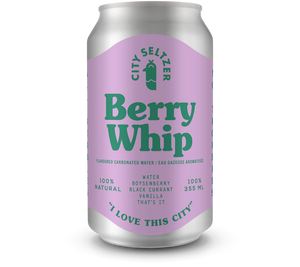 City Seltzer - Berry Whip 355ml