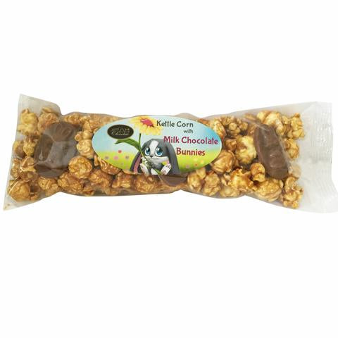 anDea Chocolate Caramel Corn with Milk Chocolate Bunnies 150g