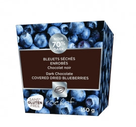 Rochef Dark Chocolate Covered Real Dried Blueberries 150g