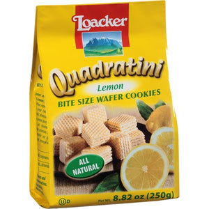 Loacker - Lemon Wafer Cookies 250g