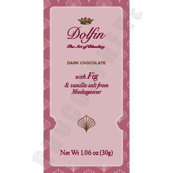 Dolfin - Dark Chocolate w Fig & Vanilla 30g