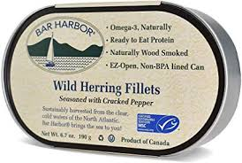 Bar Harbor - Wild Herring w Cracked Pepper 190g