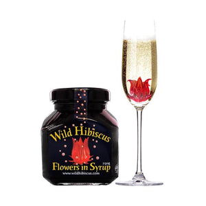 Wild Hibiscus in Syrup 200mL