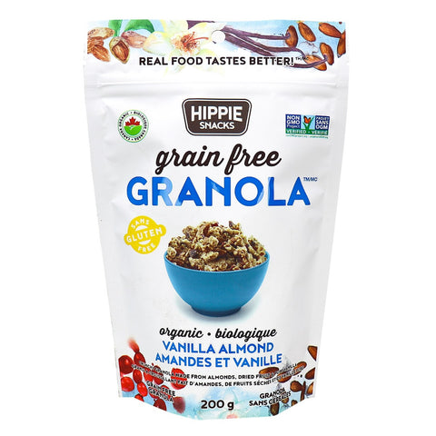 Hippie Snacks - Vanilla Almond Granola 200g