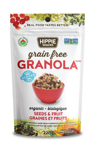 Hippie Snacks  - Seeds & Fruit Granola 220g