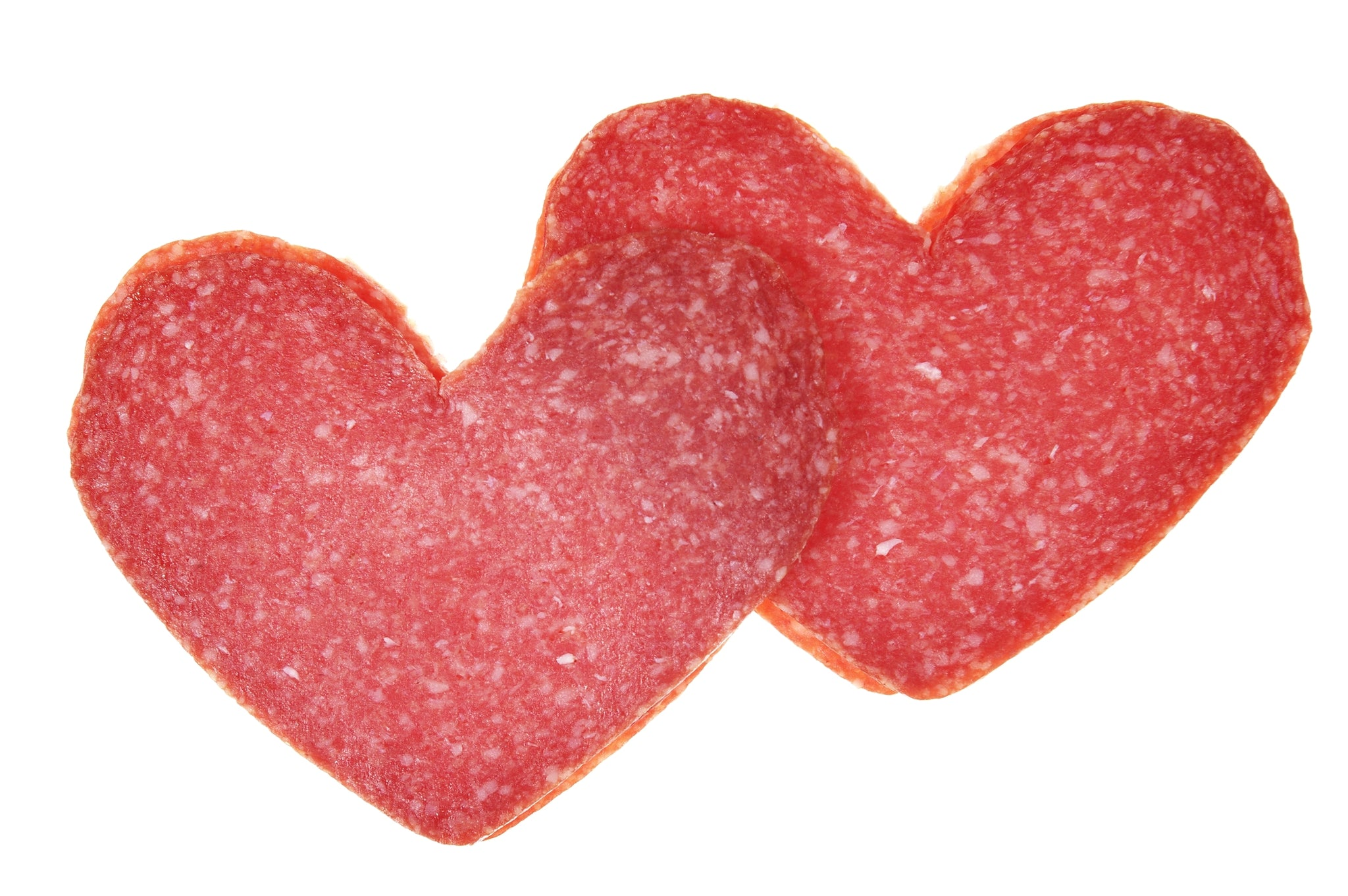 Heart Salami - 200g Sliced