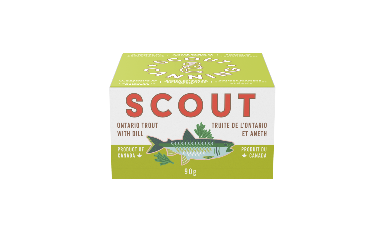 Scout - Ontario Trout w Dill 90g