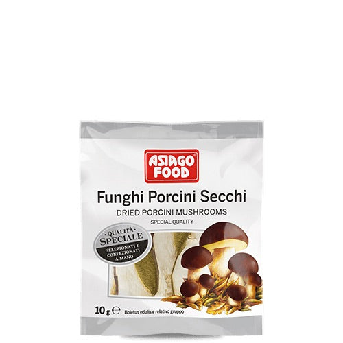 Asiagi Food Dried Porcici Mushrooms - 10g