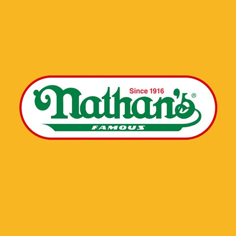 "Nathans Famous All Beef Frankfurters 8.25"" - 454g"