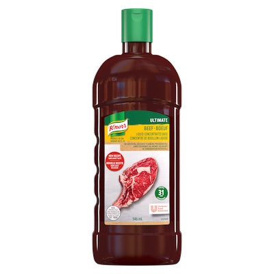 Knorr Ultimate - Beef Liquid Concentrated Base - Yields 31 Litres