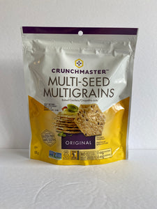 Crunchmaster Multiseed Crackers 128g