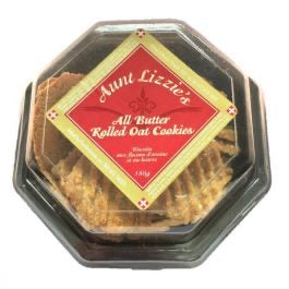 Aunt Lizzie's All Butter Rolled Oat Cookies - 180g