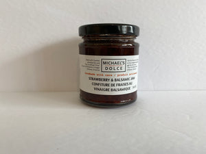 Michael's Dolce Strawberry & Balsamic Jam