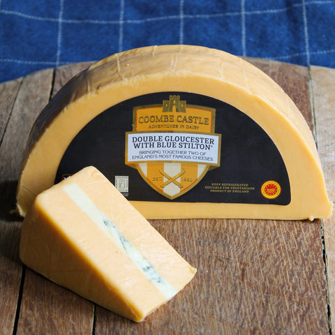 Double Gloucester with Blue Stilton 200g