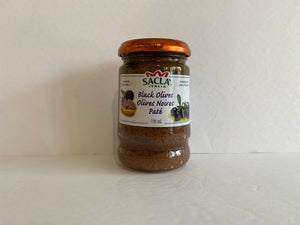 Sacla Italia Black Olive Tapenade 190mL