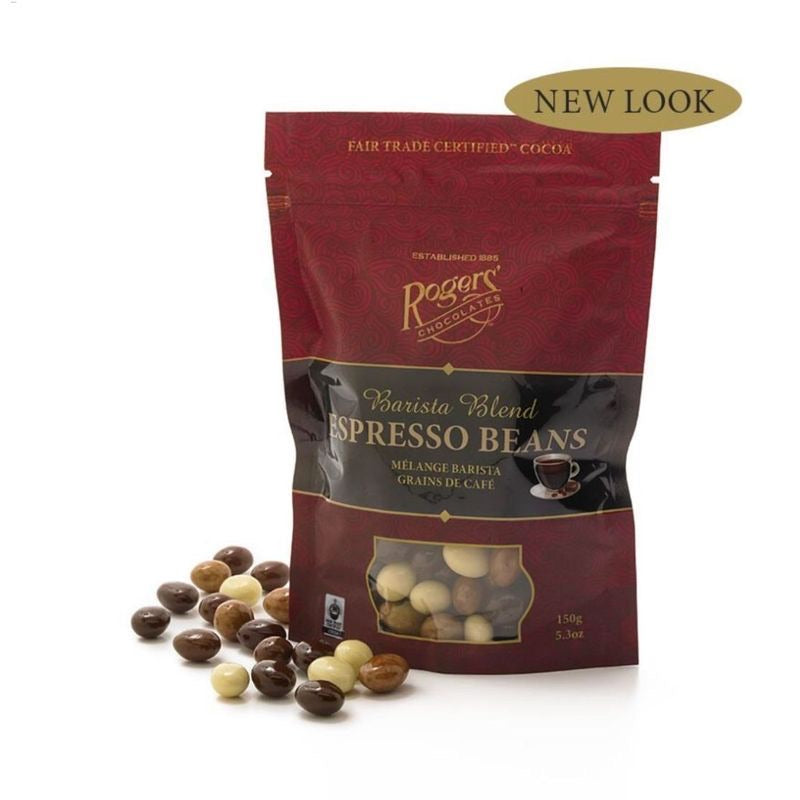 Roger's Chocolate Covered Espresso Beans 150g