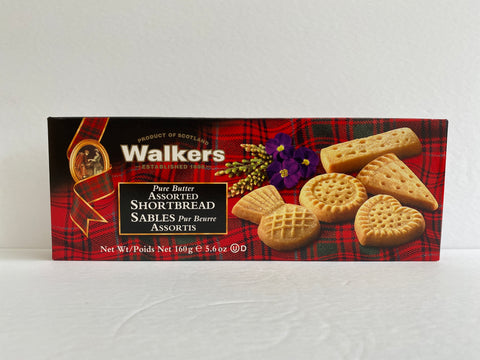 Walkers Pure Butter Assorted Shortbread - 160g