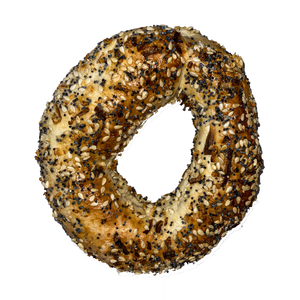 Montreal Style Bagel (Everything)  Limited Quantities!