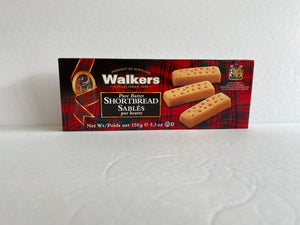 Walkers Pure Butter Shortbread - 150g