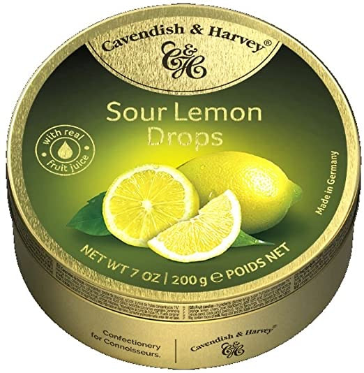 Cavendish & Harvey - Sour Lemon Drops 200g