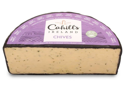 Irish Cheddar with Chives 150g