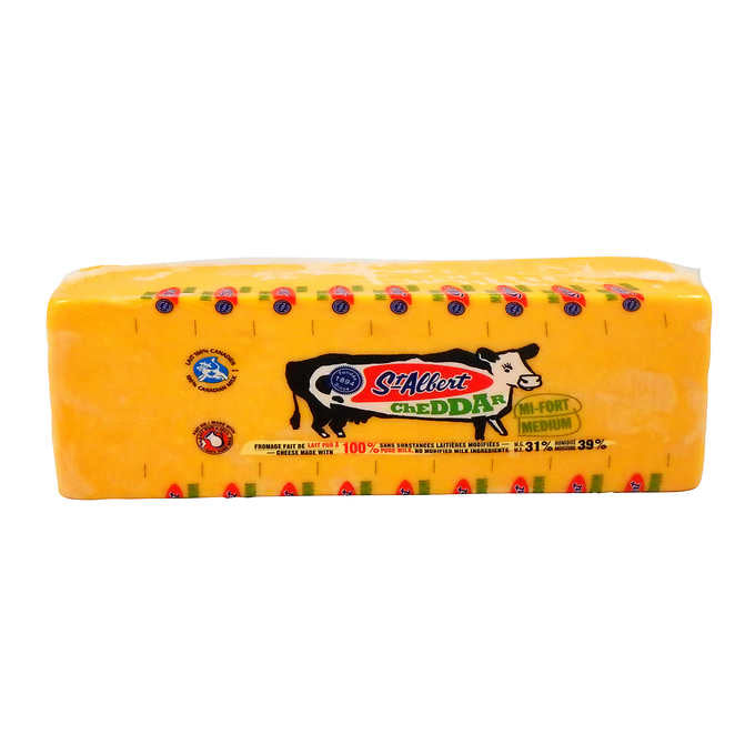 St Albert Medium Colour Cheddar 270g