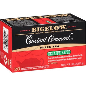 "Bigelow Tea -  ""Constant Comment"" Decaffeinated 33g (20 Tea Bags)"