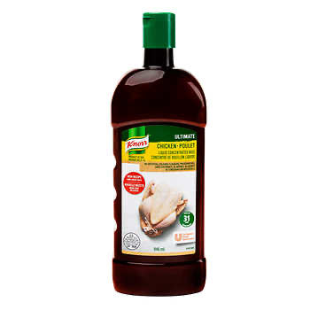 Knorr Ultimate - Chicken Liquid Concentrated Base - Yields 31 Litres