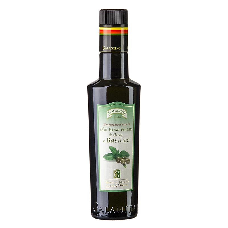Galantino Extra Virgin Olive Oil With Basil 250ml