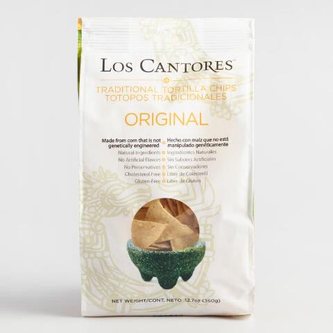 Los Cantores Original Tortilla Chips 360g