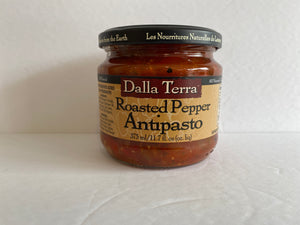 Dalla Terra Roasted Red Pepper Antipasto 375ml