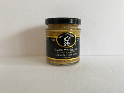 Mrs. McGarrigle's Classic Wholegrain Mustard 190 ml