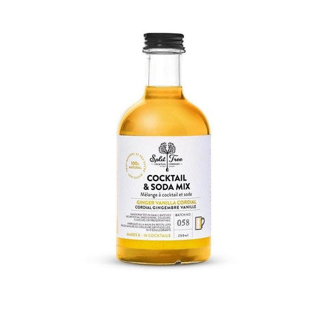 Split Tree Ginger Vanilla Cordial 250ml
