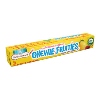 Torie & Howard Meyer Lemon & Raspberry Chewie Fruities -  59.5g