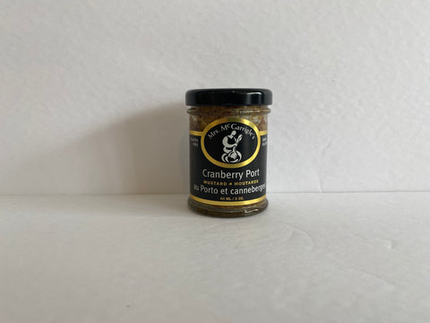 Mrs. McGarrigle's Cranberry Port Mustard 60ml