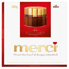 Storck - Merci Assorted Chocolates 200g