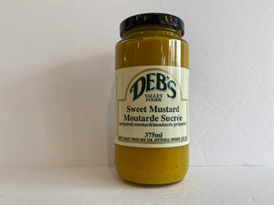 Deb's Sweet Mustard 375ml