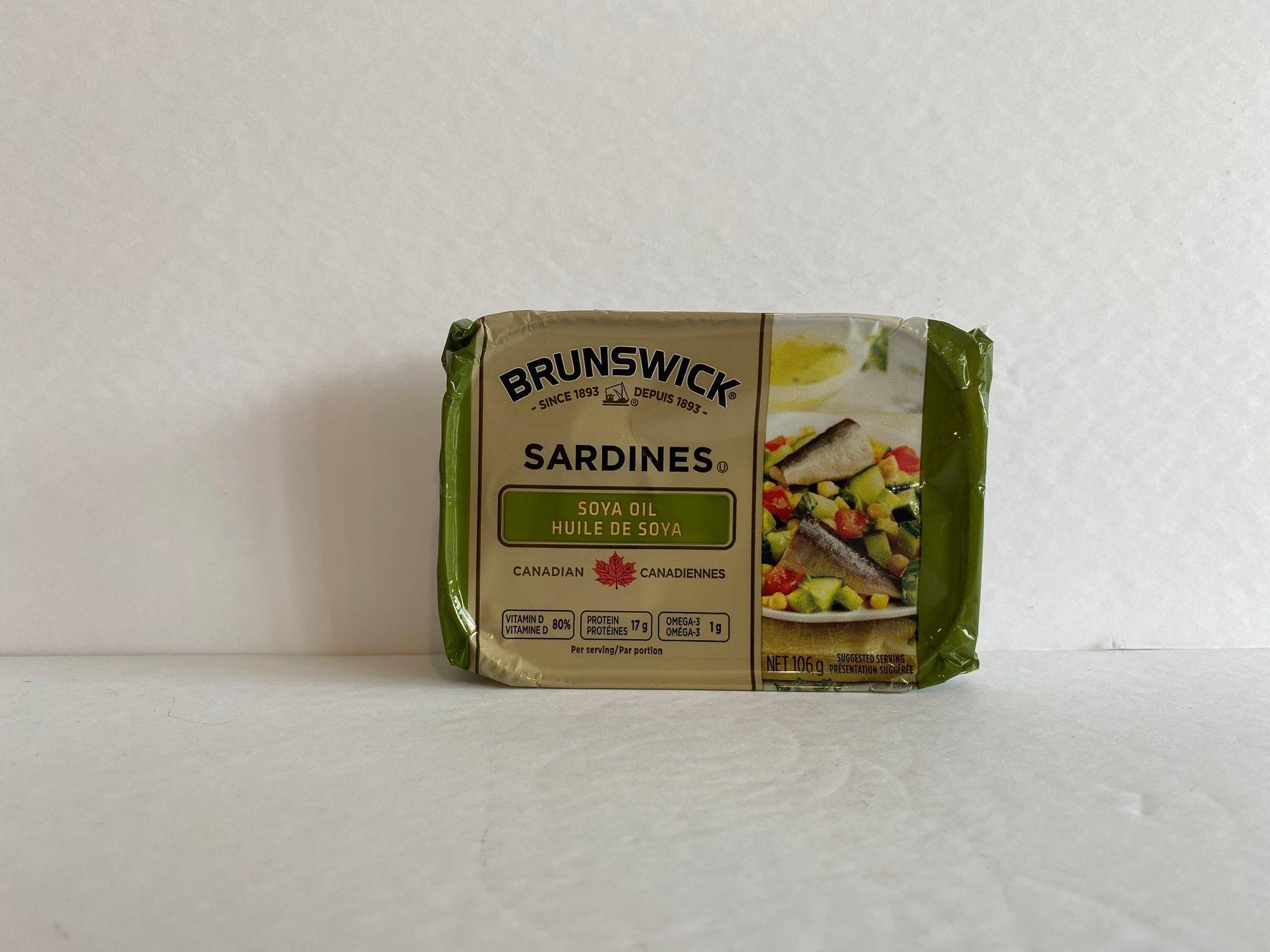 Brunswick Sardines in Soya Oil 106g