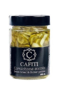 Cafiti Sweet Bread & Butter Pickles 250ml