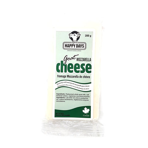 Happy Days Goat Mozzarella Cheese 200g