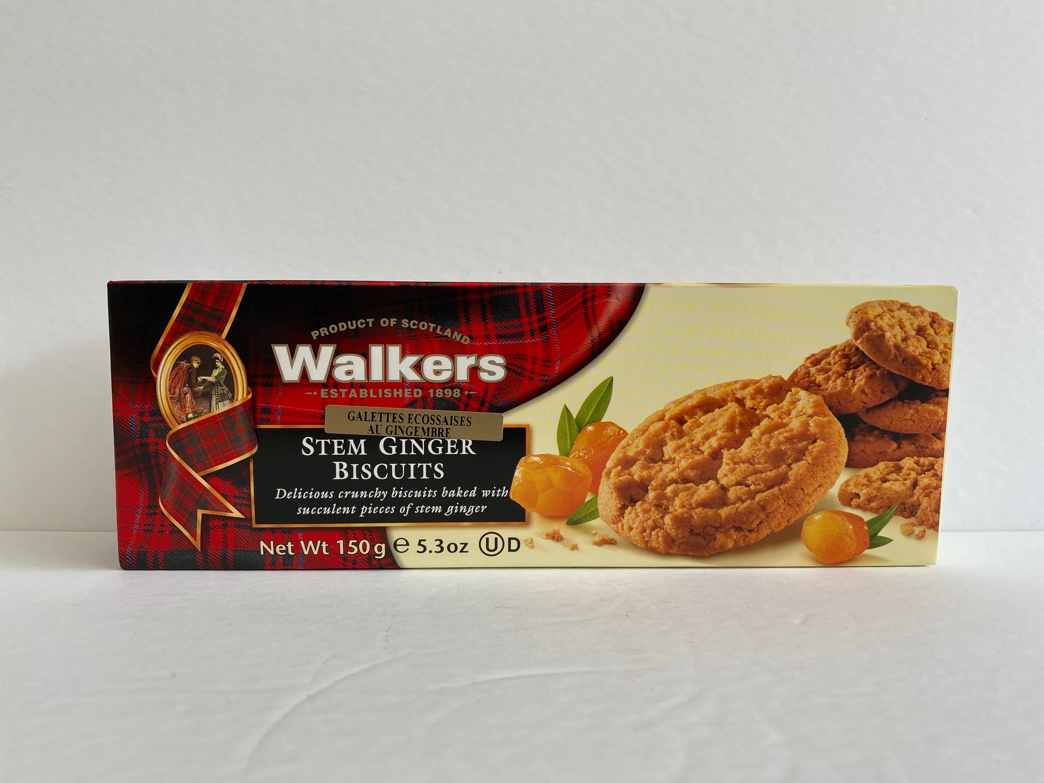 Walkers Stem Ginger Biscuits - 150g