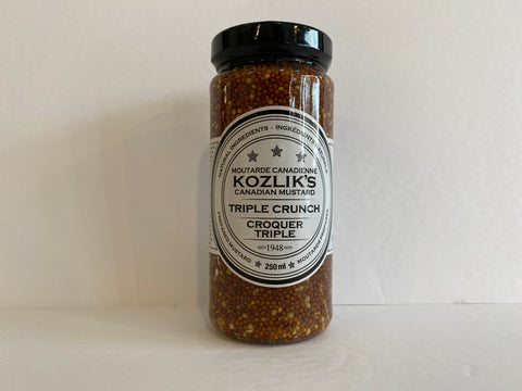 Kozlik's Triple Crunch Mustard 250 ml