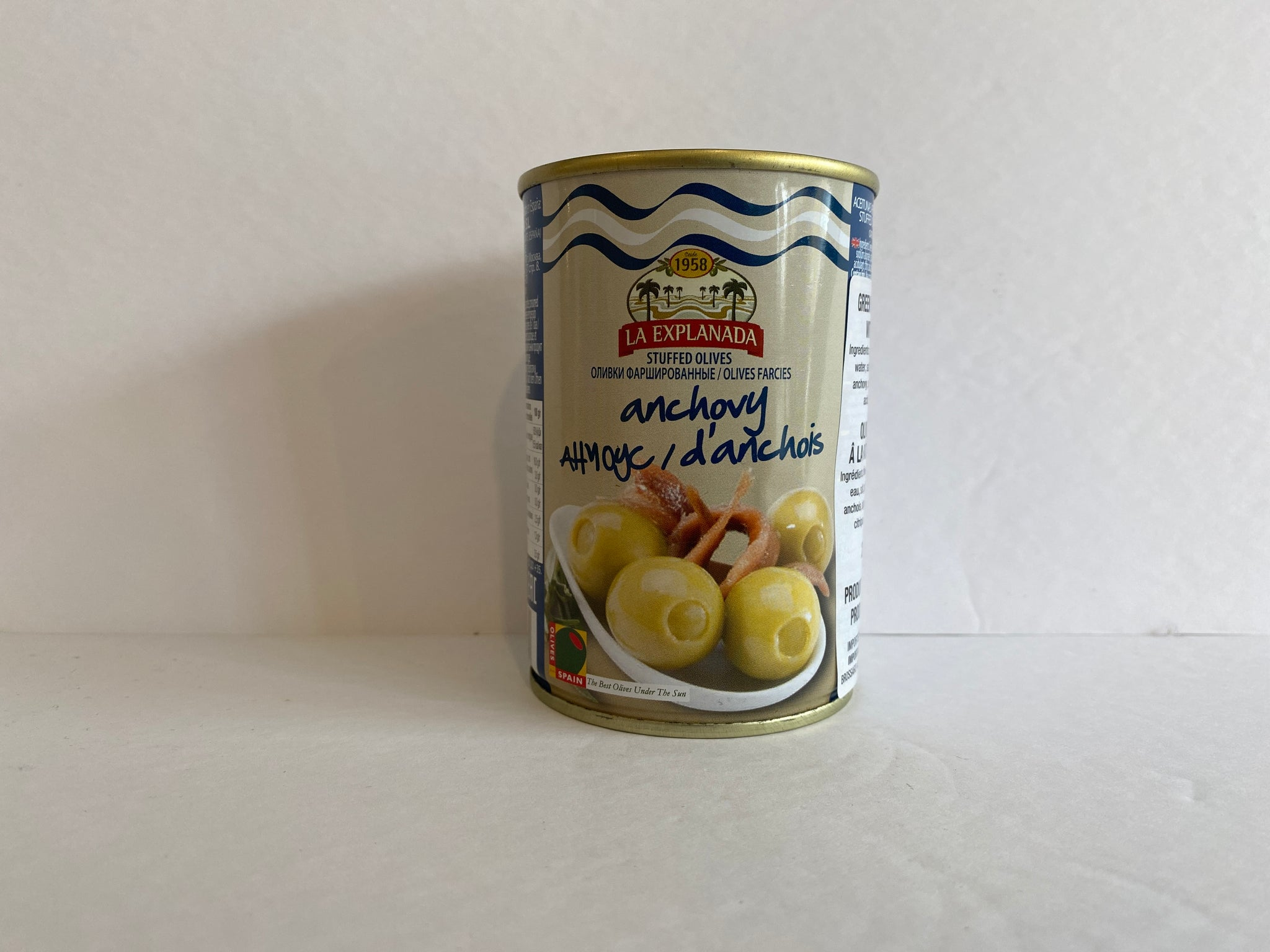 La Explanada Anchovy Stuffed Olives 250ml