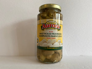 Aurora Sweet Pickled Musrooms 375ml