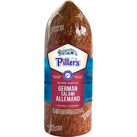 Pillers German Salami 200g