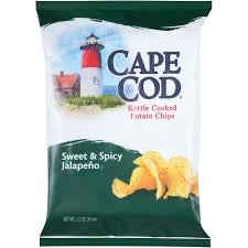 Cape Cod Sweet and Spicy Jalapeno Chips 220g