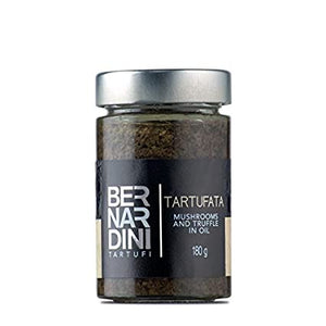 Bernardini Mushrooms and Truffle in Oil 180g