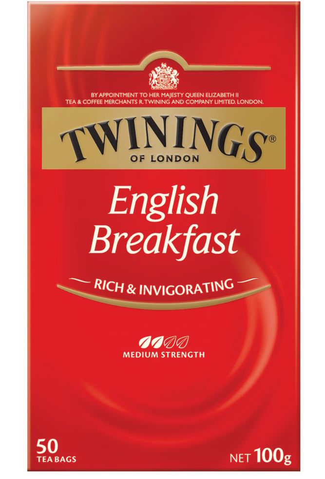 Twinings Tea - English Breakfast 40g (20 Tea Bags)