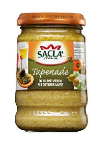 Sacla Italia - Green Olive Tapenade 190mL